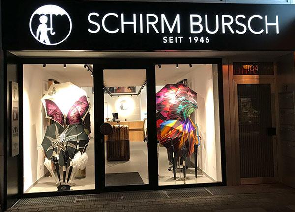 Schirm Bursch: Das Kölner Fachgeschäft für handgefertigte Schirme